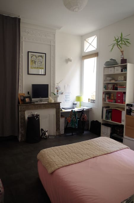 Chaleureux t1 chartrons appartements louer bordeaux for Location appartement t1 bordeaux