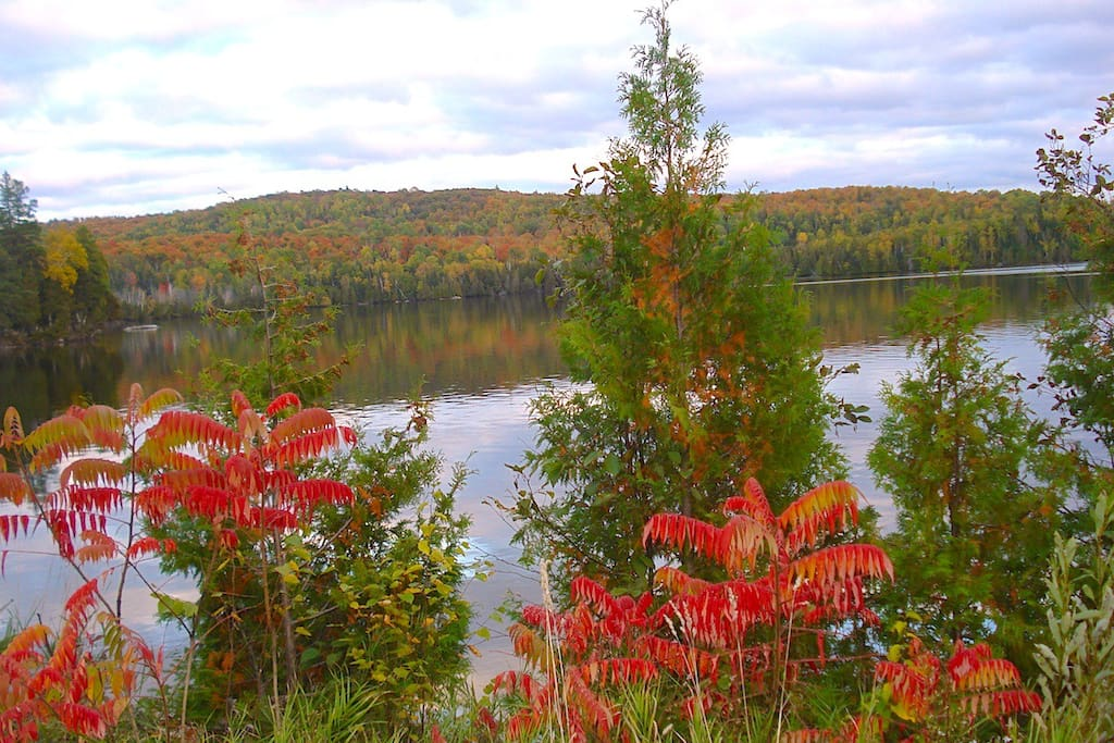 Gorman Lake in Autumn, in the picturesque Madawaska Highlands.