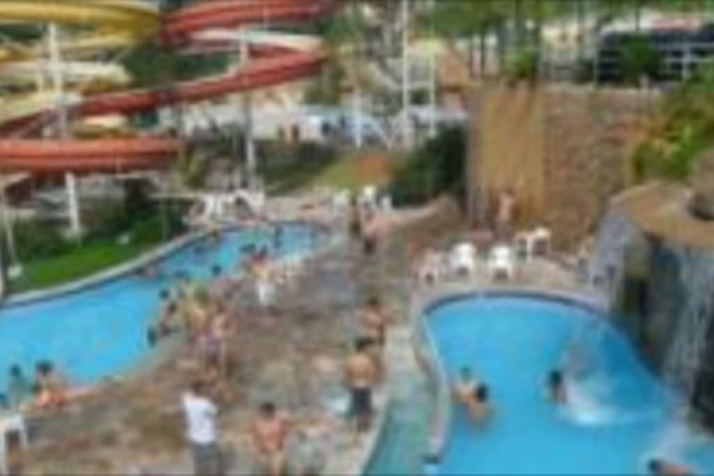 9 piscinas termais