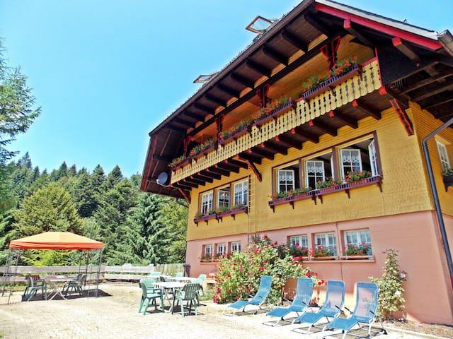 "Ferienhaus ""Fichtenhof am Wasserfall"" bis max.20 P - Todtmoos - Pensió"