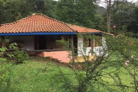 Chalézim no Paradisíaco Matutu - Aiuruoca - Ev