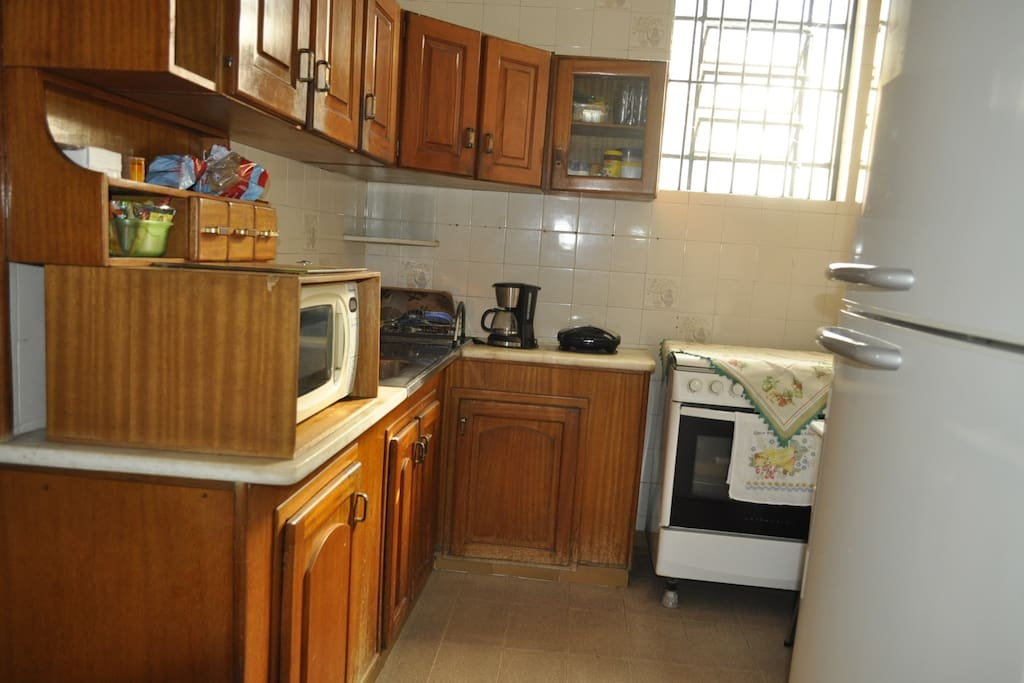 Cozinha - acesso livre