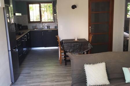 Appartement rez de jardin dans villa Côte Basque