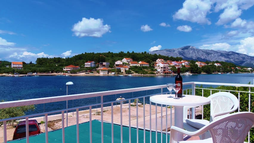 Lumbarda ROOM seaview - ADRIATIC -2 - Lumbarda - Bed & Breakfast