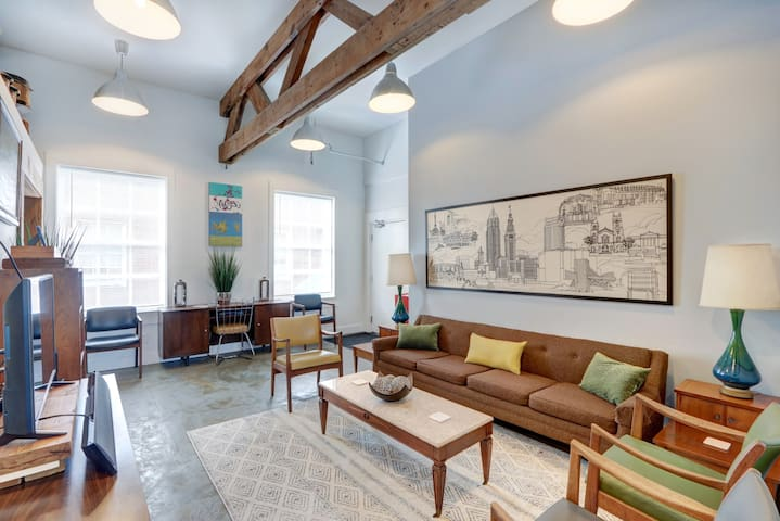 Mid-Century Modern Condo in Historic YWCA Building