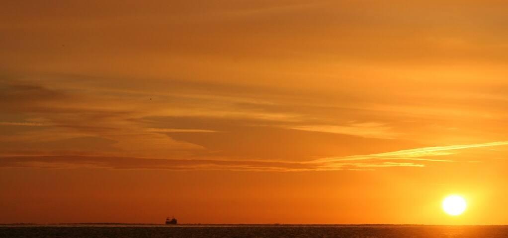 Myrtleville Beach at Dawn