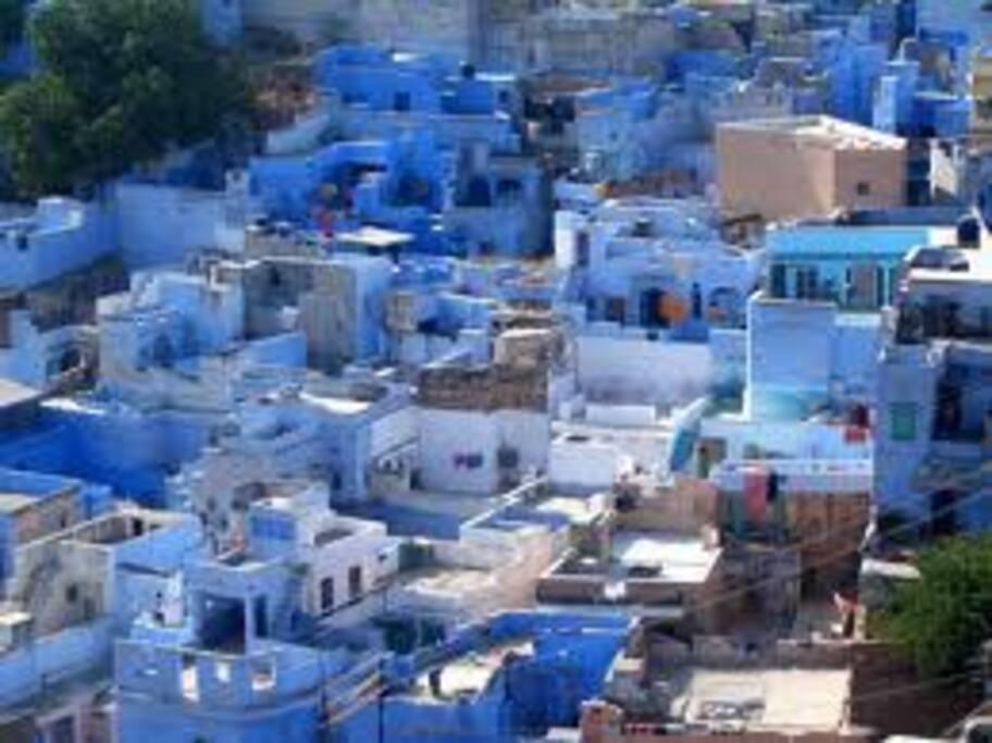 OLD BLUE CITY