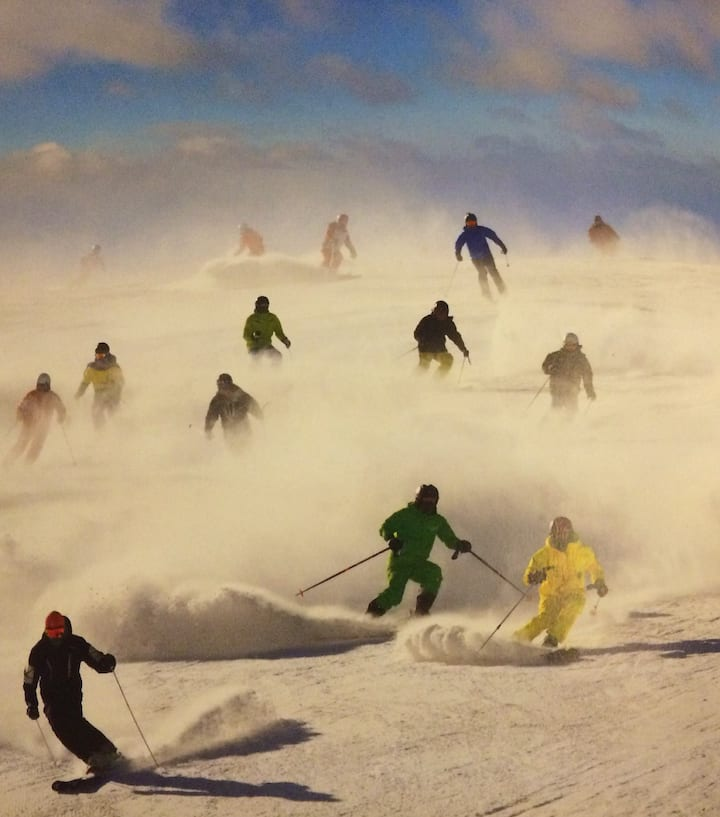 崇礼万龙滑雪公寓SKI-IN-SKI-OUT 自由呼吸的度假小屋