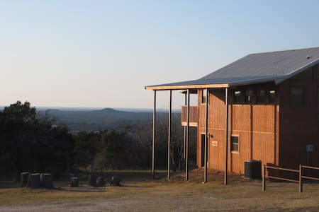 Mata'Zamo - Lofty Cliffside House on 900 acres - Glen Rose - Talo