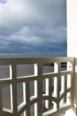 SEA FRONT VIEW IN WIMEREUX WIFI - Wimereux - Appartement