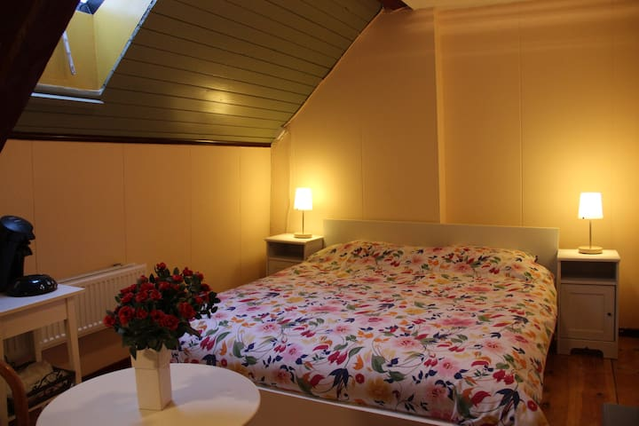 Romantic room (2) in old farm - Westbroek - Bed & Breakfast