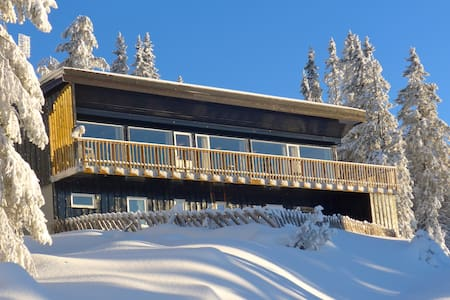 Large mountain lodge sleeps 22 pers - Lillehammer