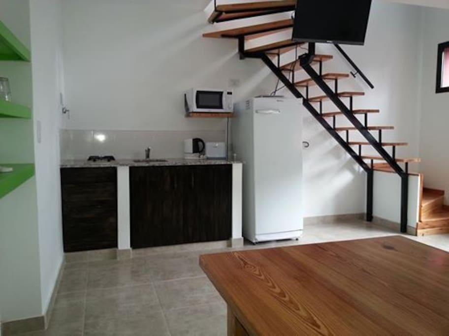 Cocina comedor con LED TV 32 '