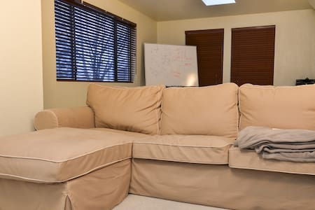Big couch at Northgate - House