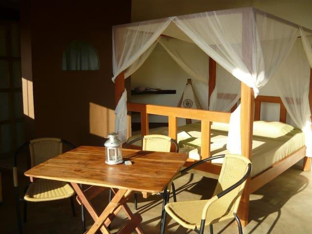 Romantic seaview bedroom Taganga