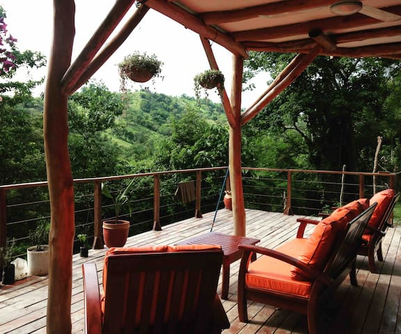 Beautiful Jungle Casa in Playa Gigante 2BDR w/AC