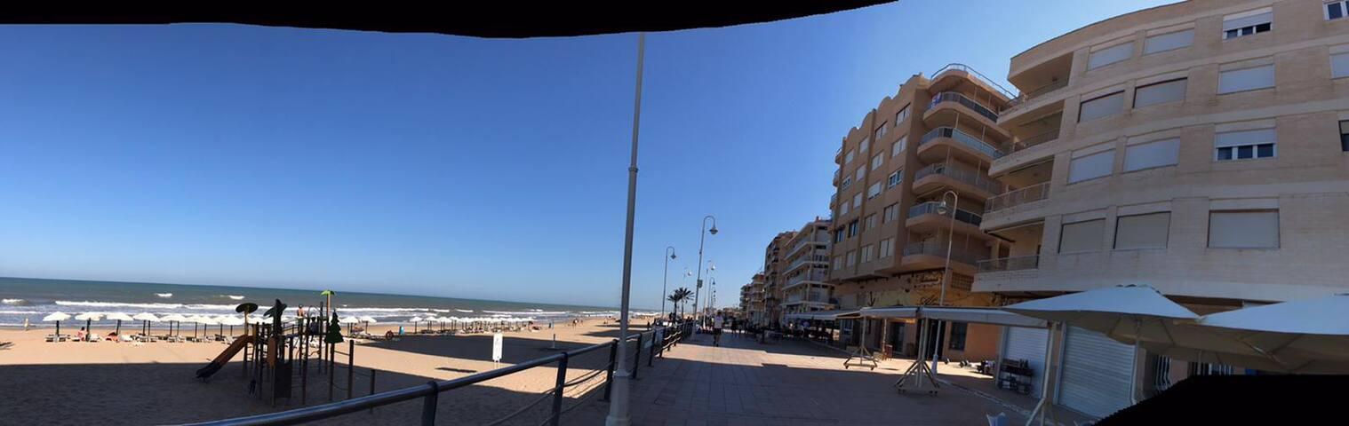 Vivo junto al mar
