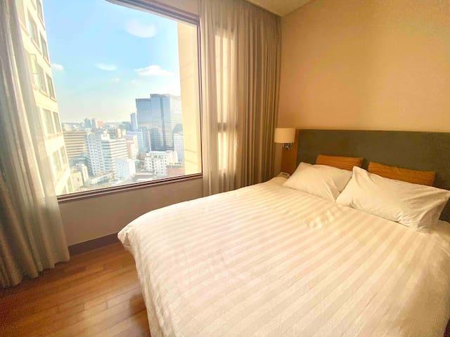 3min Anguk STN./CITY view&Fancy room/장기숙박