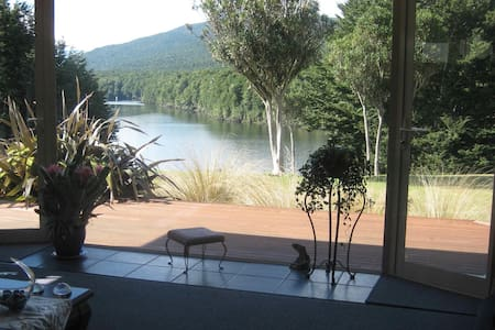 Majestic Manapouri Memories at Riverside Cottage - Manapouri - 独立屋