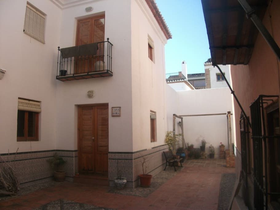 Casa Roma is set in a quiet patio