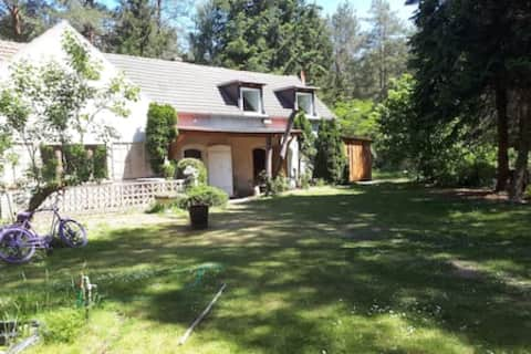 Gästehaus mitten im Wald bei Jüterbog