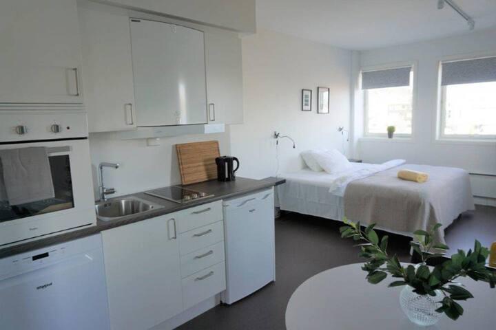 Brand new studio apartments in Tromsø centre! Ap 6