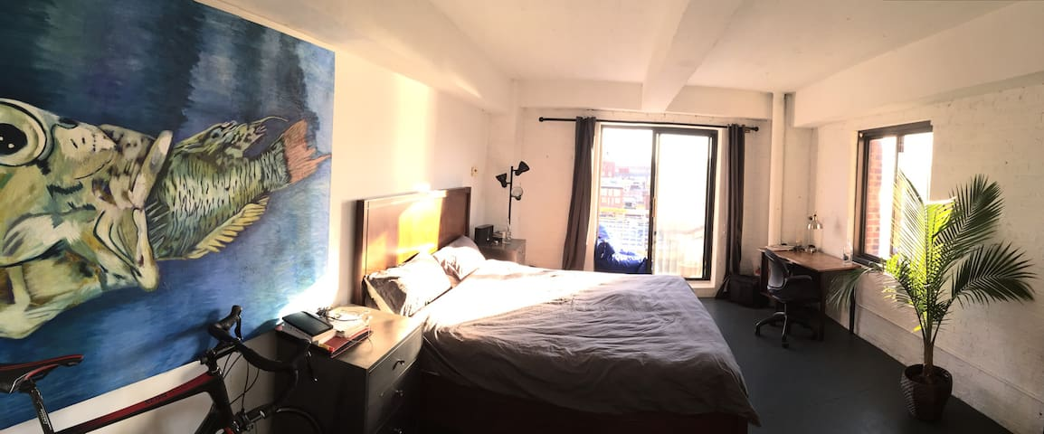 Bright and generous room with view - Brooklyn - Apartment