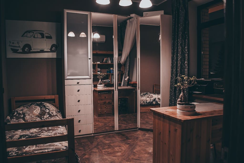 Warm bedroom