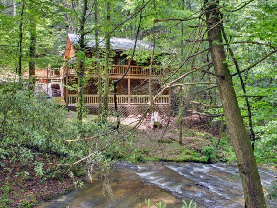 Bear Pause Cabins For Rent In Cherry Log Georgia