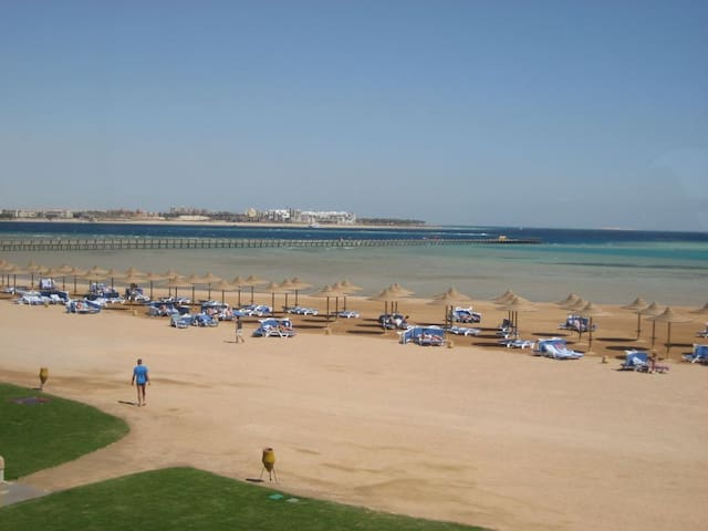 one bed room challet Makadi Red Sea