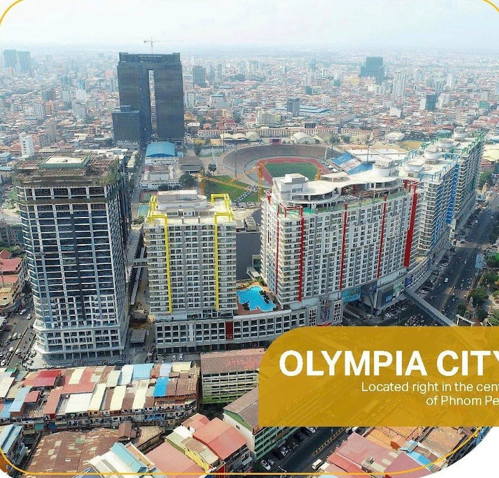 Olympia one bedroom apartment in Phnom Penh