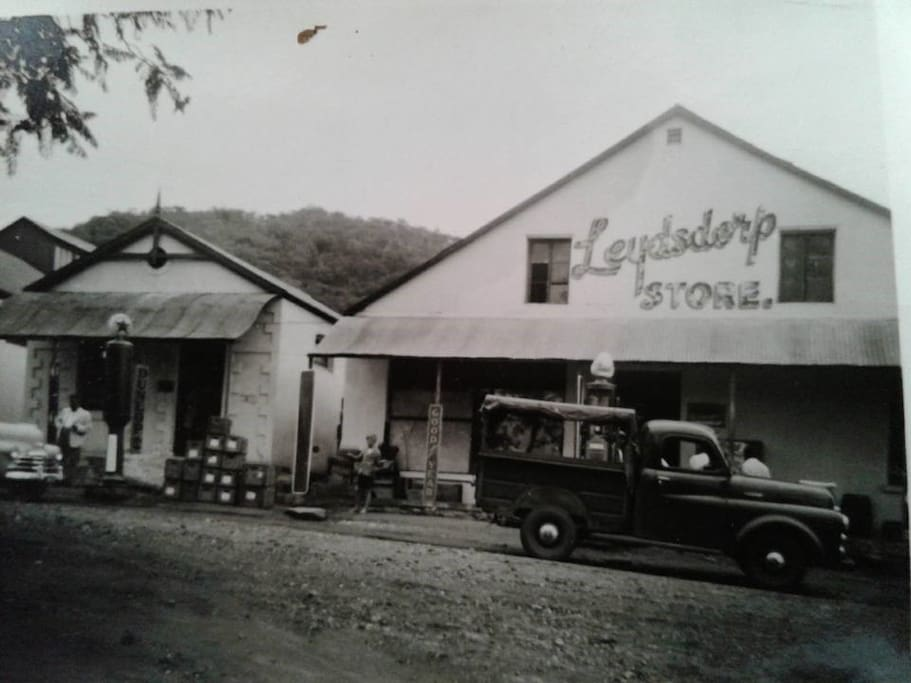 Those days the town was thriving and buzzling