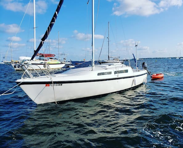 Enjoy Coconut Grove Miami on the water!