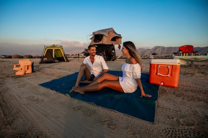 Beach | Desert | Glamping in Luxury Tents