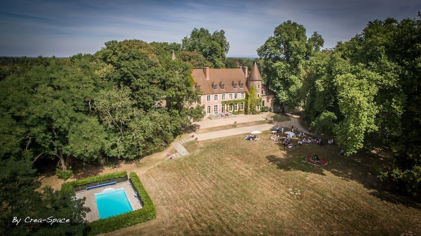 Château de Paray le Frésil (Allier) - Paray-le-Frésil - Kastil