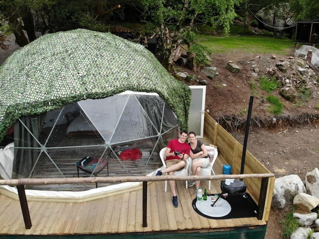 Luxury Dome for Boutique Glamping in Wicklow.