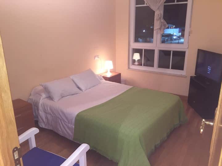 Soleado, lujo, Costa, apartamento confortable