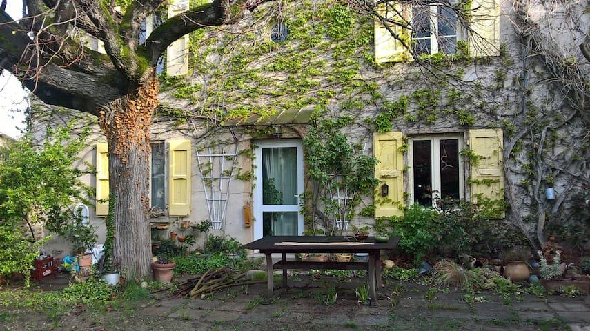 Chambre calme et son jardin - Sablons - Rumah