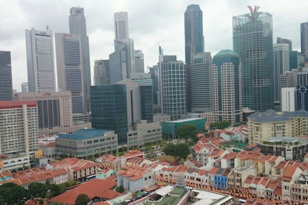 High floor MB-WIFI&AC at Chinatown - Singapore - Appartamento