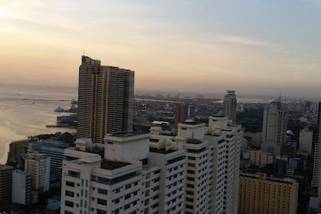 Stunning view at 43rd floor - Manila