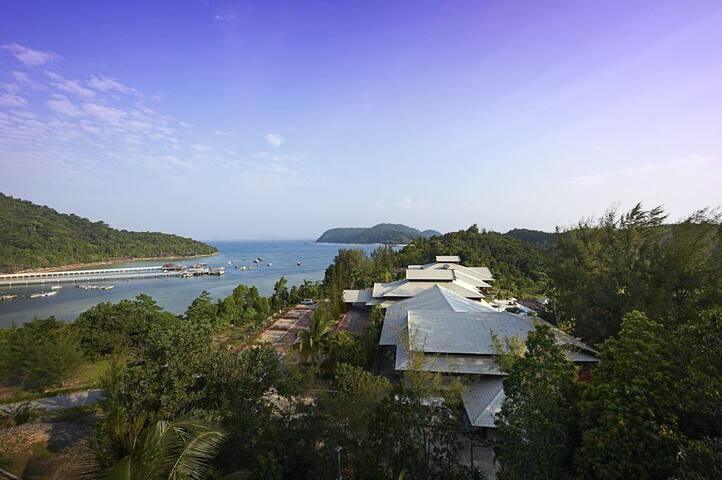 4 Star Resort in Redang Island - Great View
