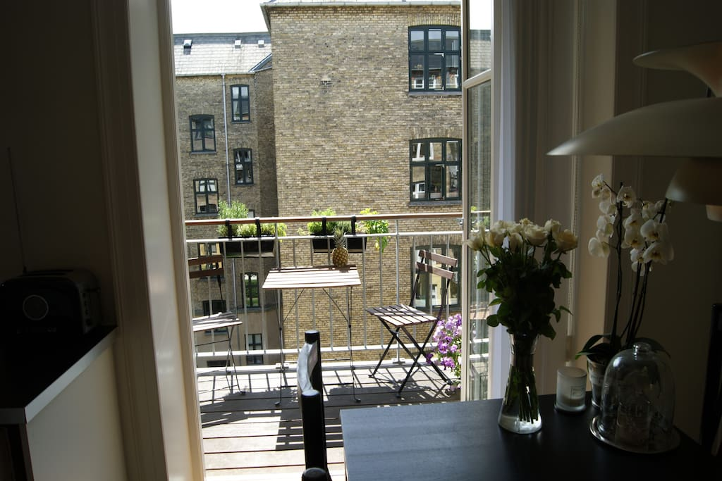 Østerbro apartment with balcony