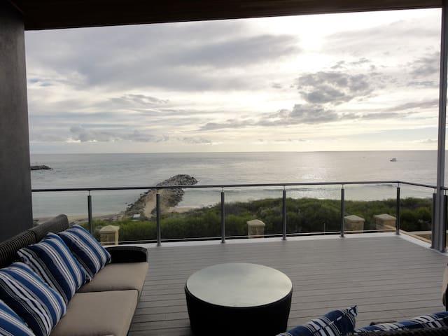 The Beach House at Port Bouvard.