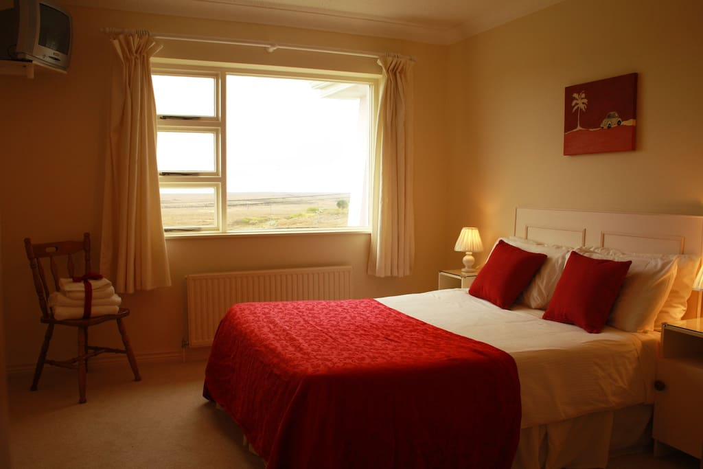Beautiful views overlooking the Connemara scenery