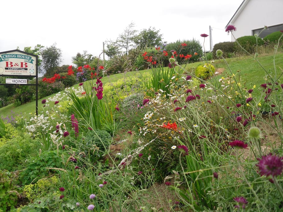 Set on a one acre garden, guest are welcome to explore