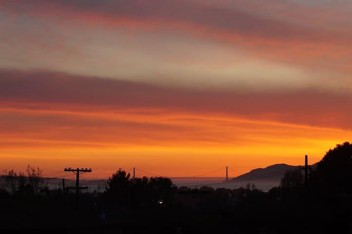 Quaint Golden Gate View Apartment - Berkeley - Appartement