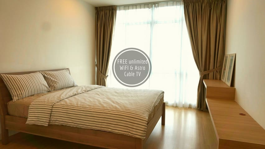 Spacious 2-BR Condominium@Camellia Bangsar South