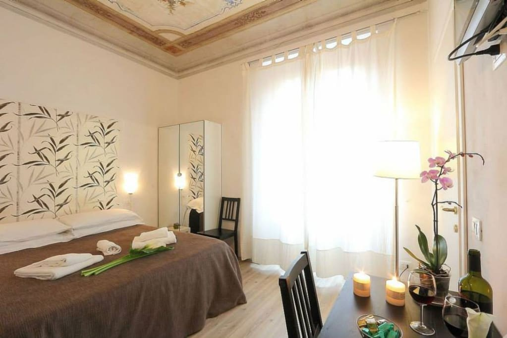 B b in city center with breakfast chambres d 39 h tes for Chambre d hote florence