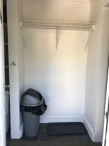 Mudroom Entryway Coat Closet