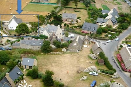 BRETONNY TRADITIONAL HOUSE - Brignogan-Plage - Guesthouse